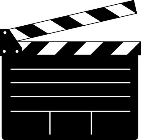 Image result for movie clapper clipart