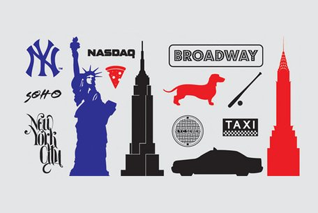 New York Icons & Silhouette Vectors (Free)