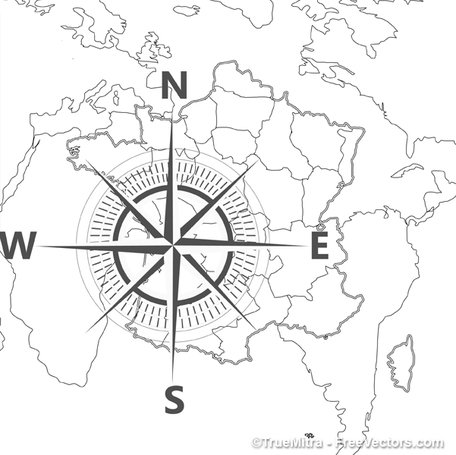 Free compass map background clipart and vector graphics clipart compass map background gumiabroncs Choice Image
