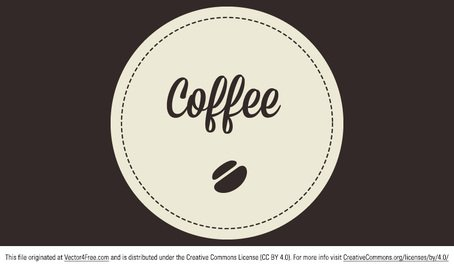 Free Coffee Vector Badge