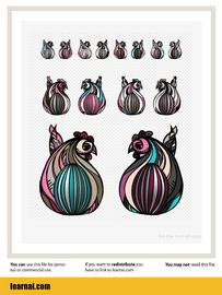 Eggster Design with Hens