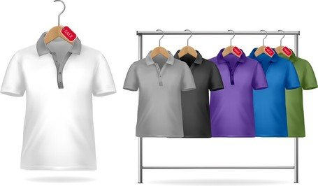 Shortsleeve Tshirt Template 01