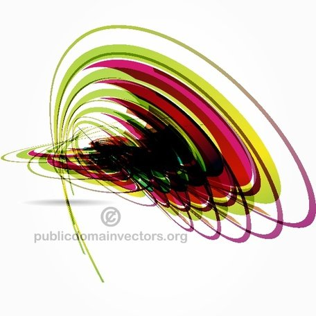 STOCK abstrait ART VECTOR.eps