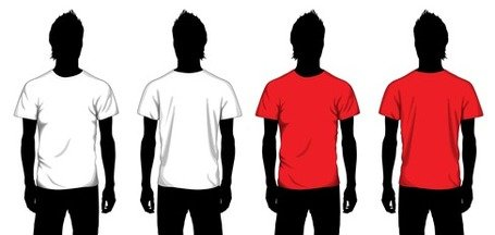 Vector Boy T-shirt Template