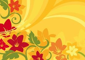 Sommer-Blume-Graphics