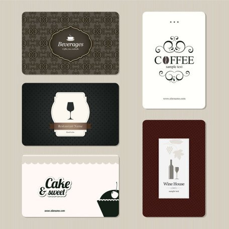 Continental menu template 14