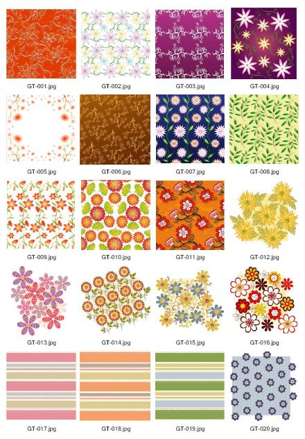 Green Tea Series Vector material material