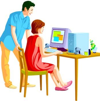 People and computer vector 3, Vector Images - Clipart.me