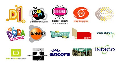 Selected foreign media Vector LOGO material
