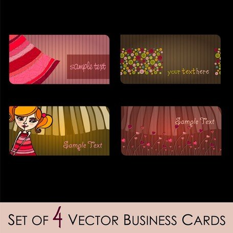 Fashion Illustrator Business Card 02