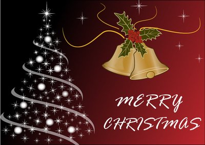Luxurious Merry Christmas Background