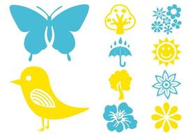 Plants And Nature Icons