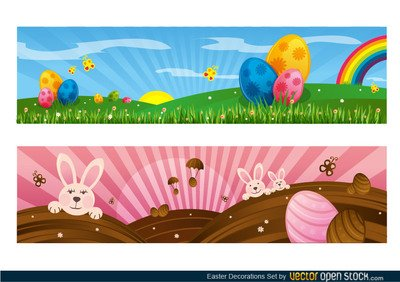 Easter Decoration Set