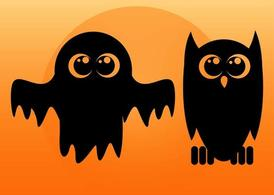 Ghost And Owl