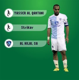 Soudi Arabian Football Player Yasser Alqahtani