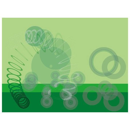 GREEN ABSTRACT CIRCLES VECTOR.eps