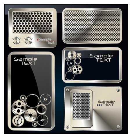 exquisite metal icon 2