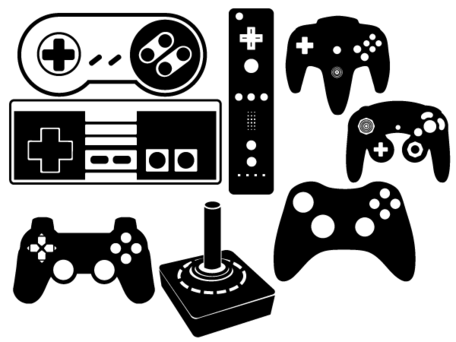 Game Controller Vector Set