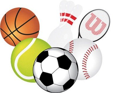 Free Vector Balls and Sports Stuff, Vector File - Clipart.me