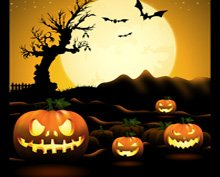 Poster di Halloween Night
