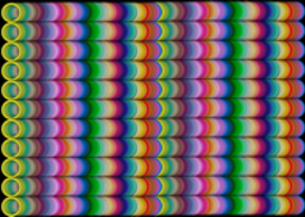 RAINBOW TUBE GRID - Abstract Rainbow Background