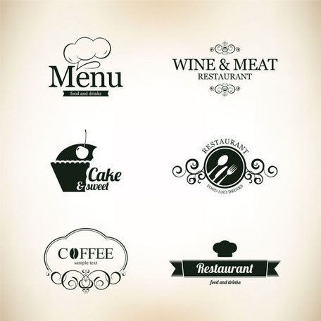 Continental menu template 02