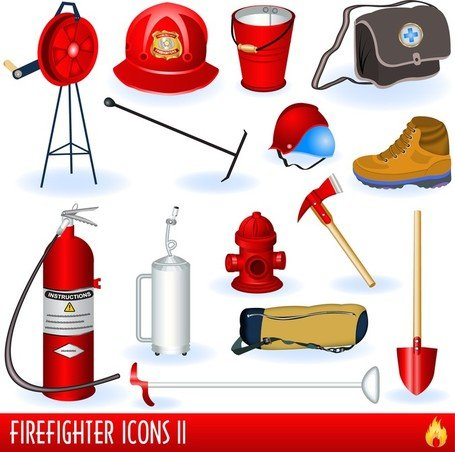 Firefighters And Fire Equipment 01