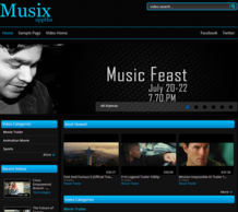 Musix - Tuning WordPress Theme For Music