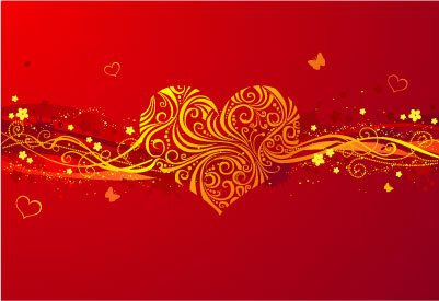 Abstract Valentine\\\'s Day background