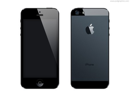 format PSD iPhone 5
