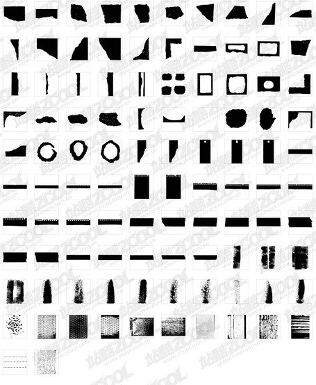 95 elements in a variety of texture