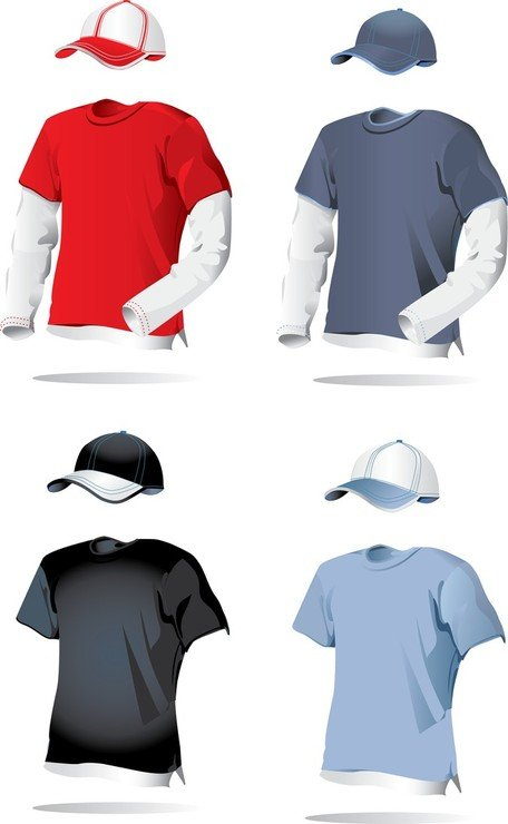 1 Blank Vector Clothing