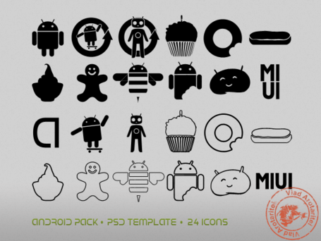 Pack di icona Android