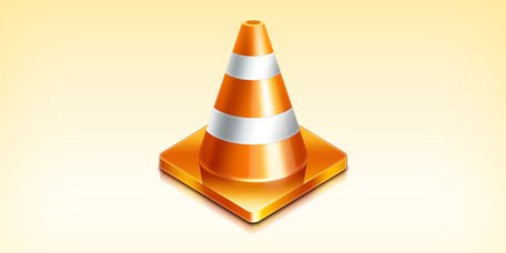 Traffic cone icon (PSD)
