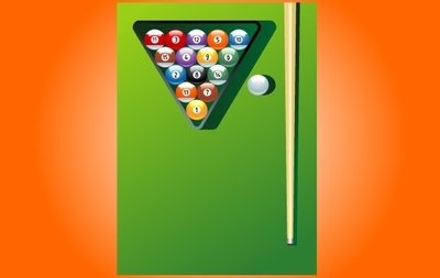 Billiard Game Instruments Vector Images