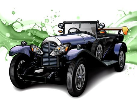 Cartoon oldtimers 01