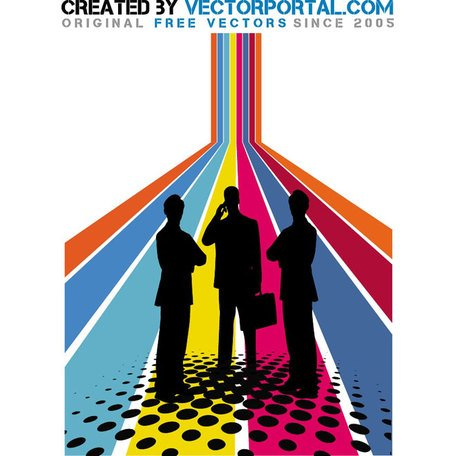 BUSINESS ABSTRACT VECTOR GRAPHICS.eps