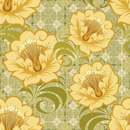 Free Floral Seamless Background