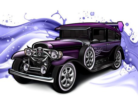 Cartoon oldtimers 02