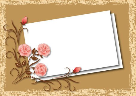 Beautiful flower box blank board 02
