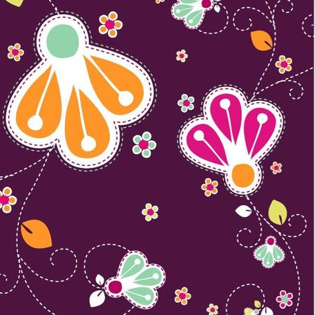 FLORES românticas VECTOR BACKGROUND.eps