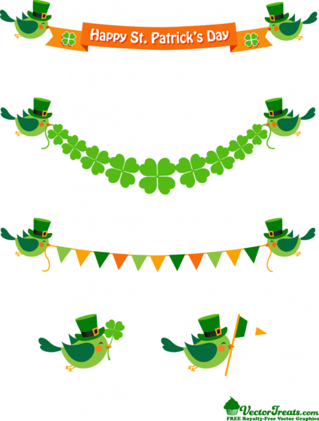 Happy ST Patrick Day Clip Art, Vector Happy ST Patrick Day - 1000 ...