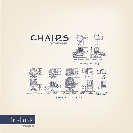 Standards architecturaux : Chaises par Frshnk