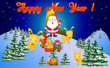 New Year Card free