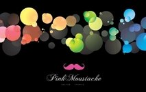 Colorful Shining Bubbles Background