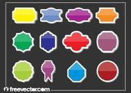 Colorful Stickers Graphics