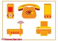 Communication Devices Graphics