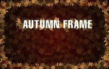 Frame met Autumn Leaves