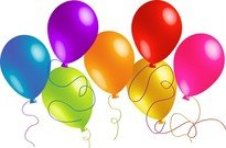 Beautifully Colored Balloons 01