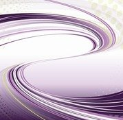Purple Background with Flowing Lines